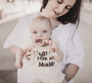 graphic bodysuit | got it from mommy