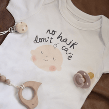Baby graphic bodysuit | no hair Finn + Emma