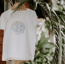 Baby graphic tee | good vibes finn + emma