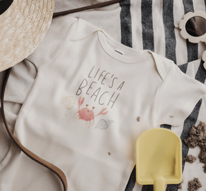 graphic bodysuit | life's a beach