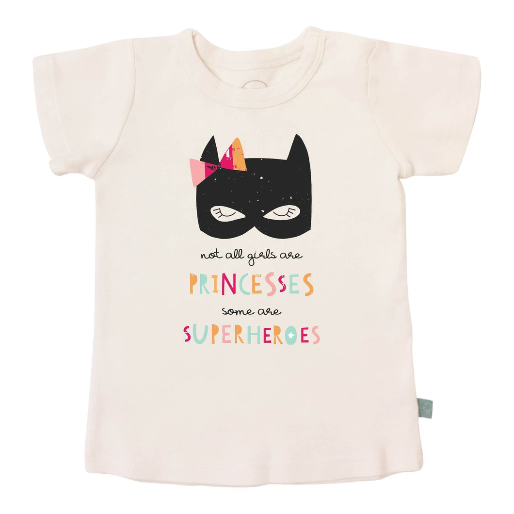 graphic tee | superhero princess