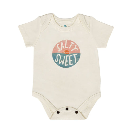 Baby graphic bodysuit | salty but sweet finn + emma