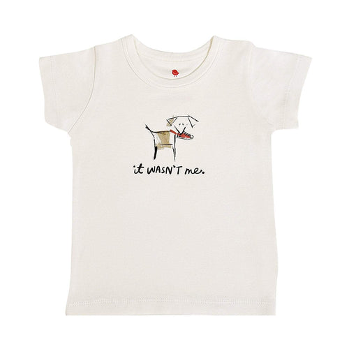 Baby graphic tee | wasn't me finn + emma