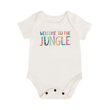 Baby graphic bodysuit | welcome to the jungle finn + emma