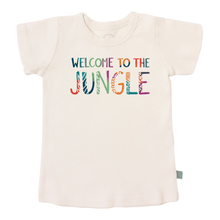 Baby graphic tee | welcome to the jungle finn + emma