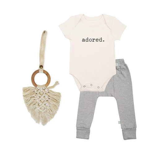 Baby holiday gift set | adored finn + emma
