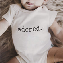 Baby graphic bodysuit | adored finn + emma