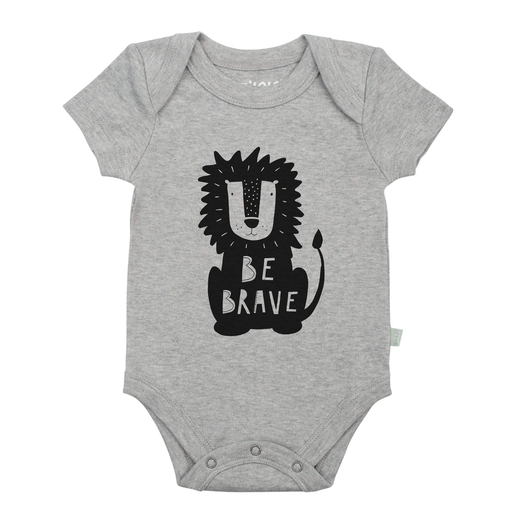 Baby graphic bodysuit | be brave (heather) finn + emma