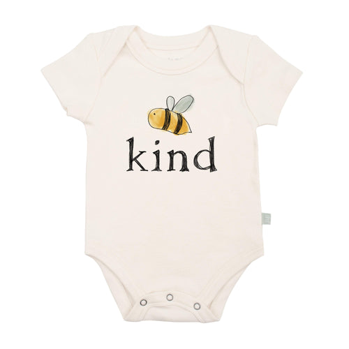 Baby graphic bodysuit | bumble bee kind finn + emma