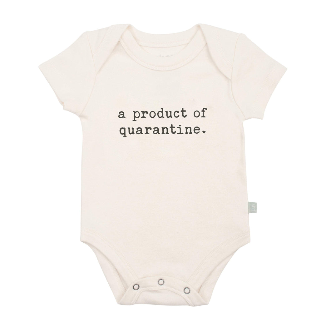 Baby graphic bodysuit | product of quarantine finn + emma