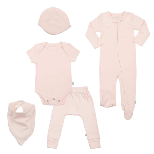 basics bundle set | light pink