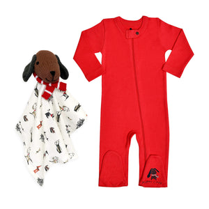 Baby holiday gift set | puppy love finn + emma
