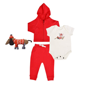 Baby holiday gift set | joy 4pc finn + emma