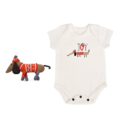 Baby holiday gift set | joy 2pc finn + emma
