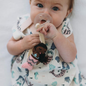 pacifier holder | Olivia the mermaid