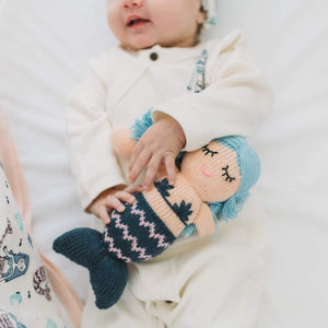 Baby rattle buddy | penelope the mermaid finn + emma
