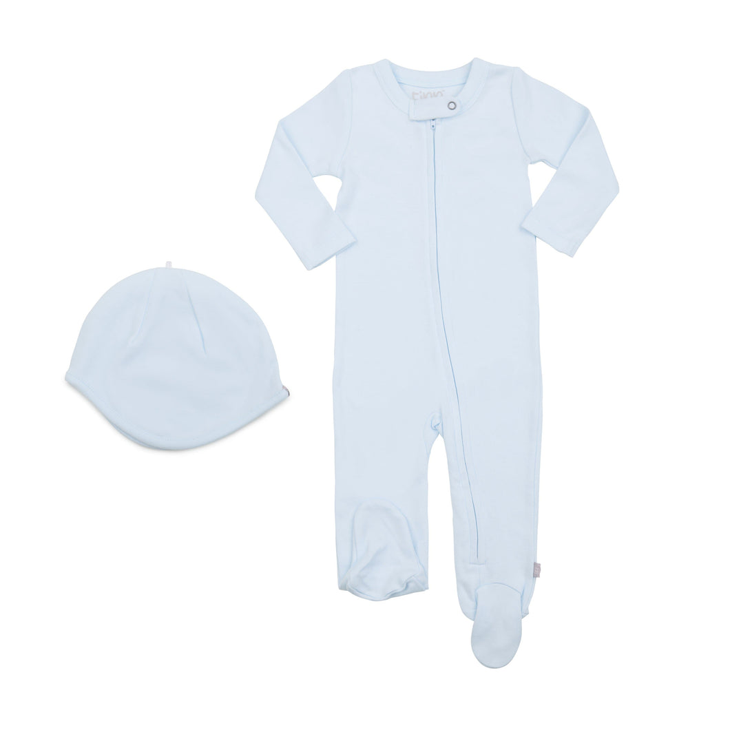 Baby bringing home baby set | light blue finn + emma