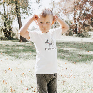 Baby graphic tee | tis the season finn + emma