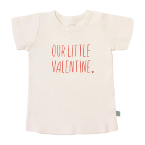 Baby Copy of graphic tee | candy hearts finn + emma