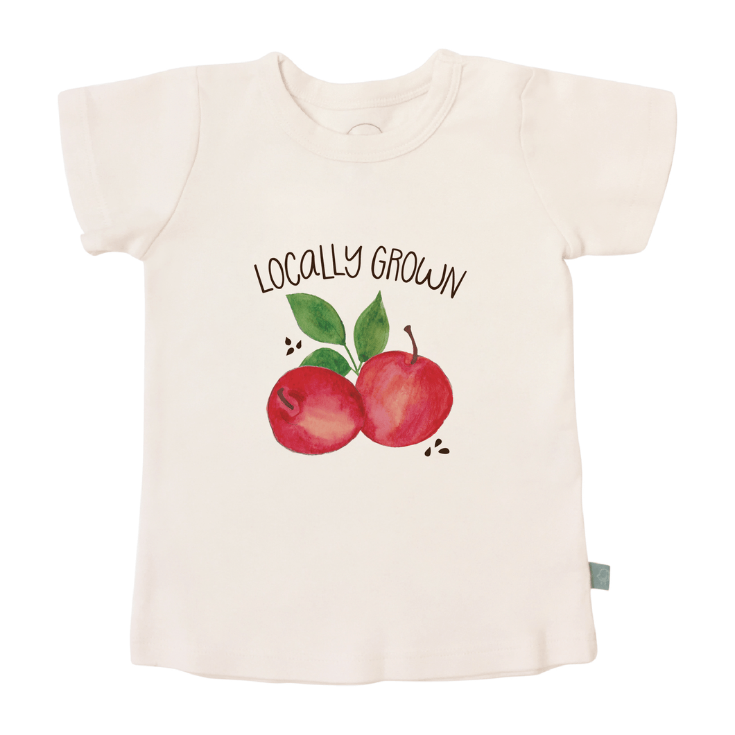 Baby graphic tee | locally grown finn + emma