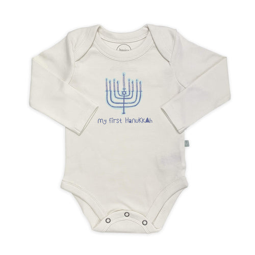 graphic bodysuit | hanukkah (long sleeve)