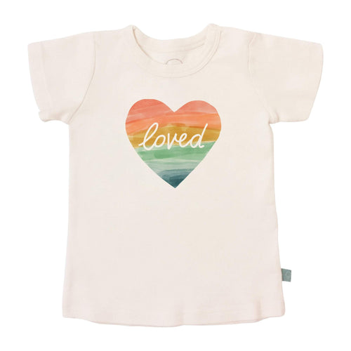 Baby graphic tee | loved finn + emma