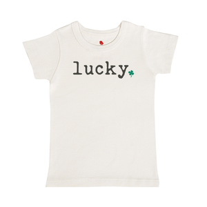 graphic tee | lucky