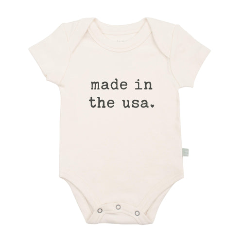 Baby graphic bodysuit | made in the u.s.a. finn + emma