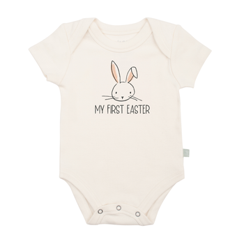 Baby graphic bodysuit | my first easter finn + emma