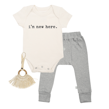 Baby gift set | new here finn + emma