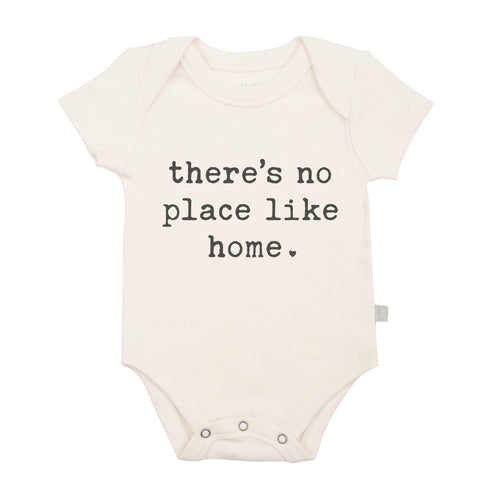 Baby graphic bodysuit | no place like home finn + emma