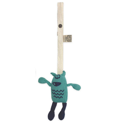 knit stroller toy | Otto the monster