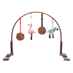 play gym | love mom & dad  | walnut