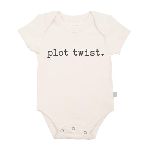Baby graphic bodysuit | plot twist finn + emma