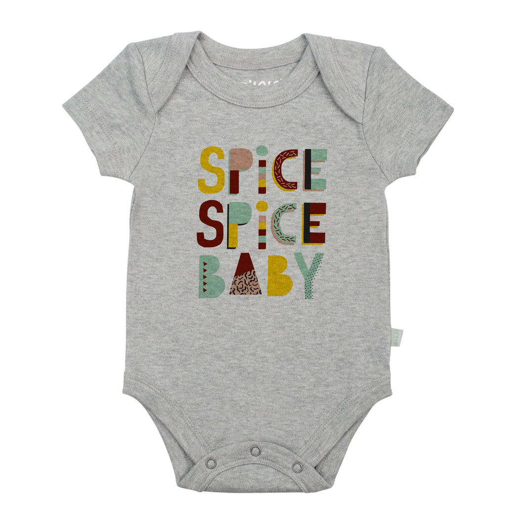 graphic bodysuit | spice spice baby (heather)