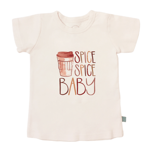 Baby graphic tee | spice spice baby finn + emma