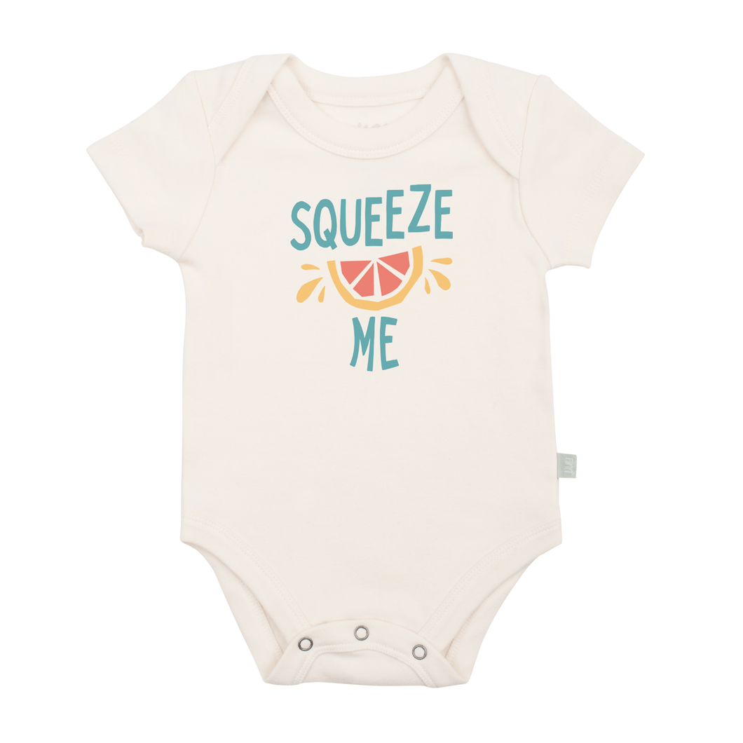 Baby graphic bodysuit | squeeze me finn + emma