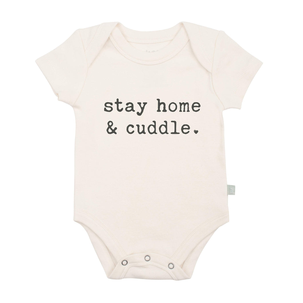 graphic bodysuit | stay home and cuddle