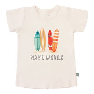 Baby graphic tee | make waves finn + emma