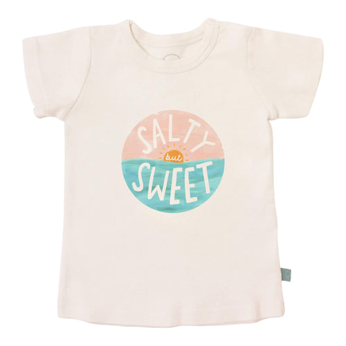Baby graphic tee | salty but sweet finn + emma