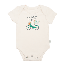 Baby graphic bodysuit | future is green finn + emma