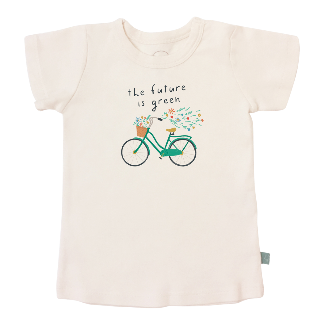 Baby graphic tee | future is green finn + emma