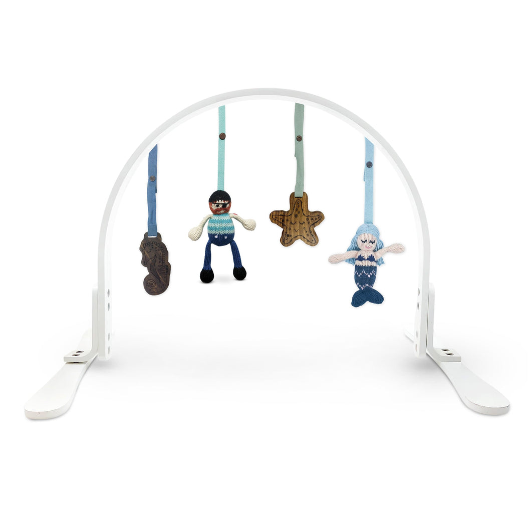 Baby play gym | under the sea - white finn + emma