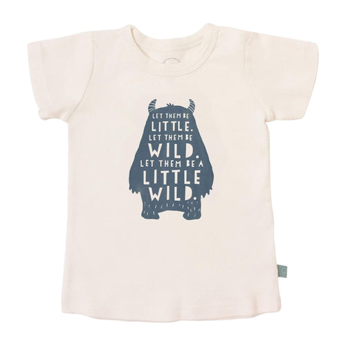 Baby graphic tee | wild child finn + emma