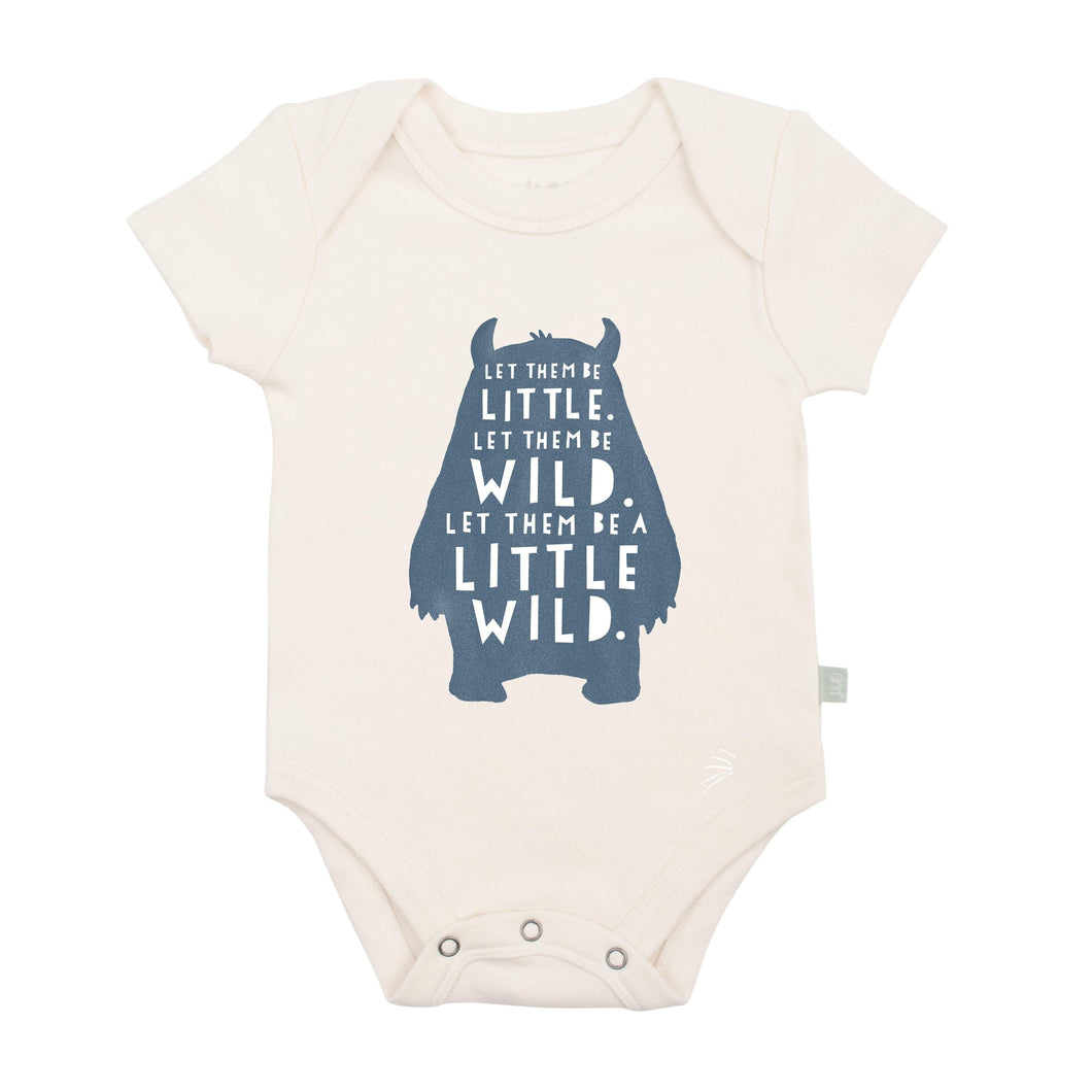 Baby graphic bodysuit | wild child finn + emma