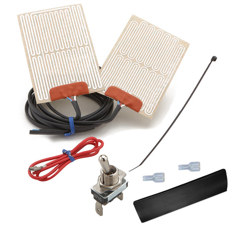 External Grip Heater Kit with High/Low Switch