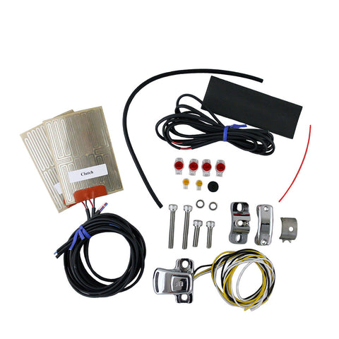 Motorcycle External Grip Heater Kit with Four-Level Controller