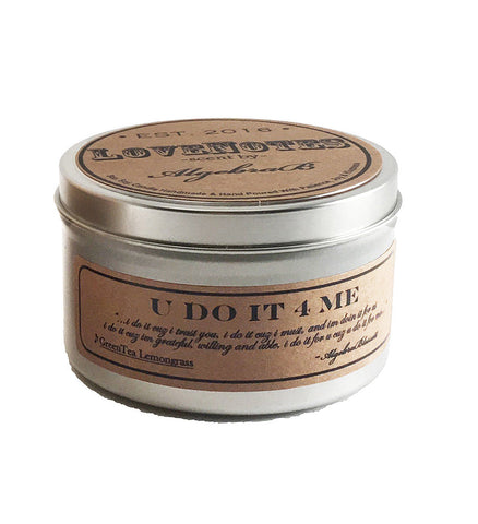 LoveNotes 4oz. Massage Candle Travel Tin