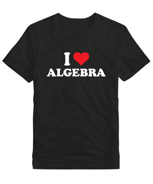 I Love Algebra Men's T-shirt