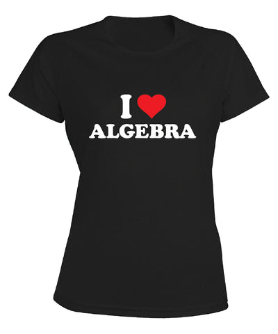 I Love Algebra Women's T-shirt
